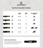 Halsband Kentucky corduroy bordeaux_